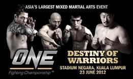 ONE FC Destiny of Warriors
