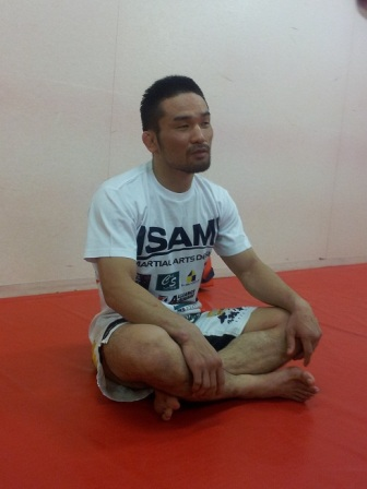 Katsunori Kikuno lost the acquired a new skill from Okinawa karate to prepare for the fight against Satoru Kitaoka this weekend in Tokyo