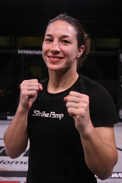 Women's bantamweight Sara McMann
