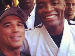 Royler Gracie and Anderson Silva