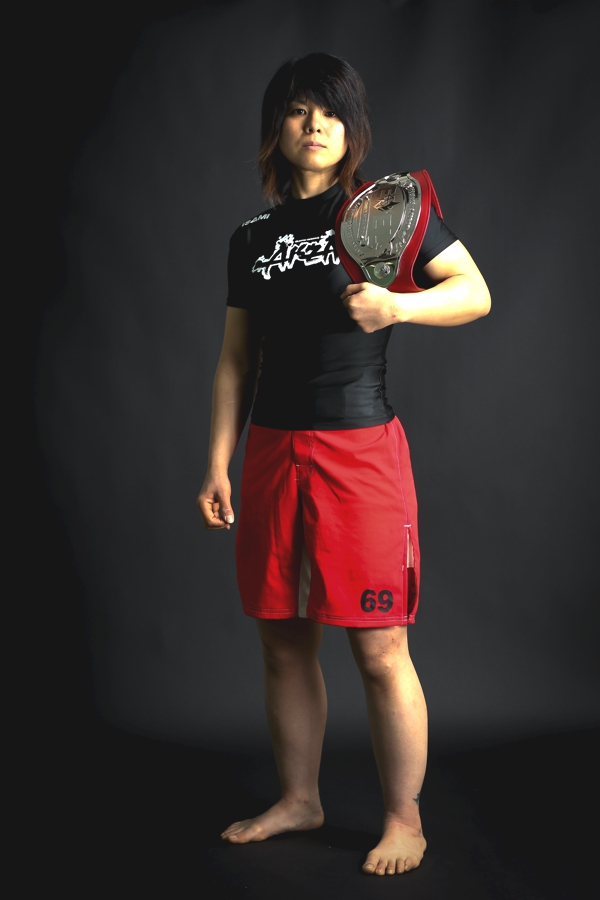 """Naho """"Sugi Rock"""" Sugiyama is fighting for the title in the North American debut."""
