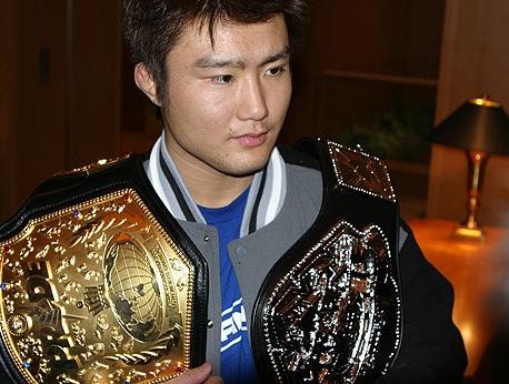 Former Pride FC champion Takanori Gomi