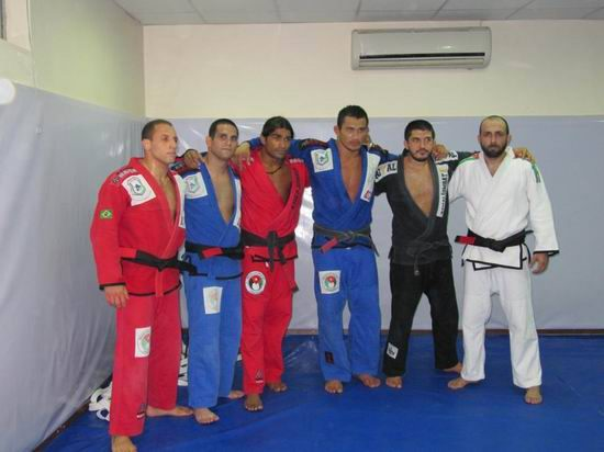 Team Mirza BJJ in Amman – Jordan witnessed a historic day last Thursday when team leader Zaid Mirza promoted 3 of his long time student to their Brazilian Jiu-Jitsu Black Belts.