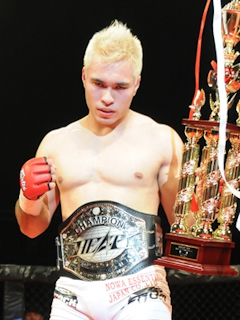 Enrique Shiguemoto lives in Nagoya area of Tokyo, and looking to improve his record to 5-1 in this upcoming title bout.