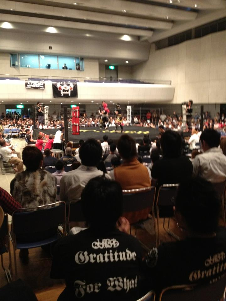 Border does the event at the community center located at outside of the central Osaka area but it does attract fair number of fans.
