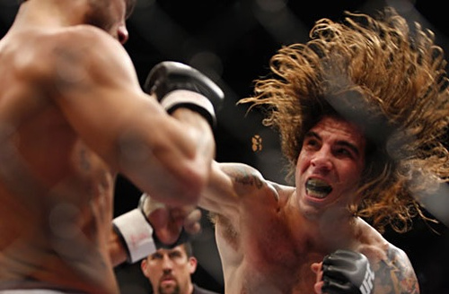 New UFC featherweight Clay Guida
