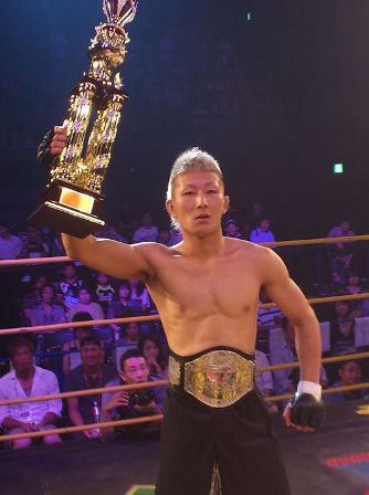 The current DEEP flyweight champion Yuki Motoya is doing an exhibition match in this DEEP show at this home town.