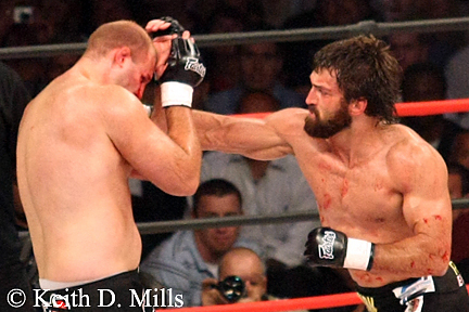 Andre Arlovski on right
