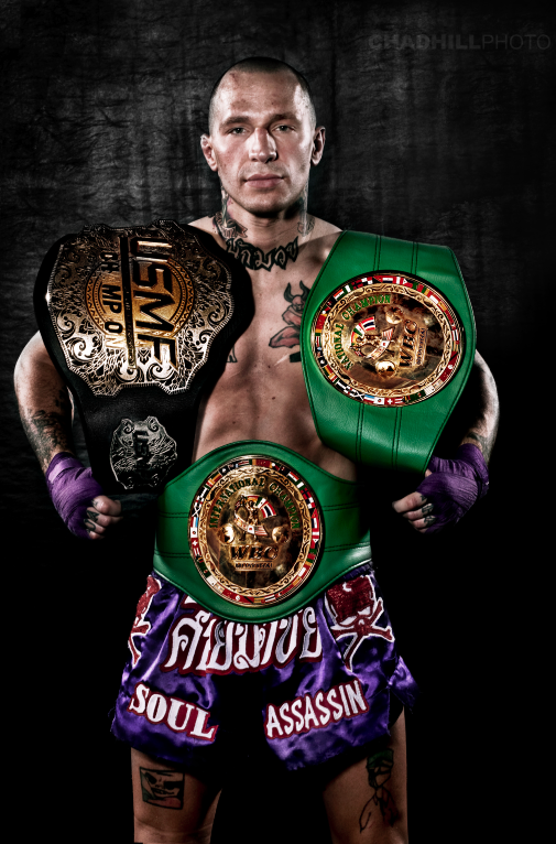 """Superstar Kevin """"El Presidente"""" Ross will represent The U.S. in GLORY where he will be faced with the highest level of kickboxing competition"""