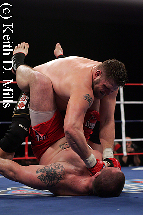 Roy Nelson on top