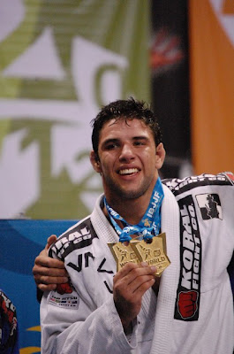 "Marcus ""Buchecha"" with Worlds 2012 double Gold"