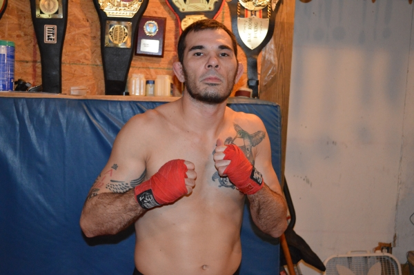 Wade Choate 33 years old from team Central Illinois Combat Club with a pro record of 14 wins and 14 losses