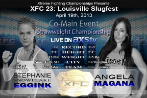 XFC 23 Stephanie Eggink vs. Angela Magana