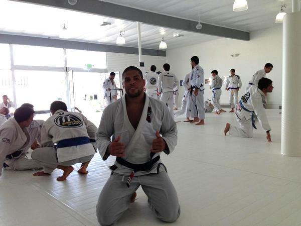 Andre Galvao at AOJ Academy