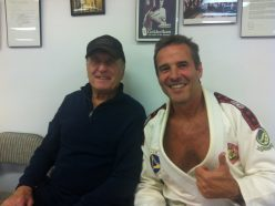 Hollywood legend Robert Duval with master Pedro Sauer