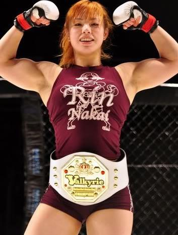 Queen on Pancrase Rin Nakai