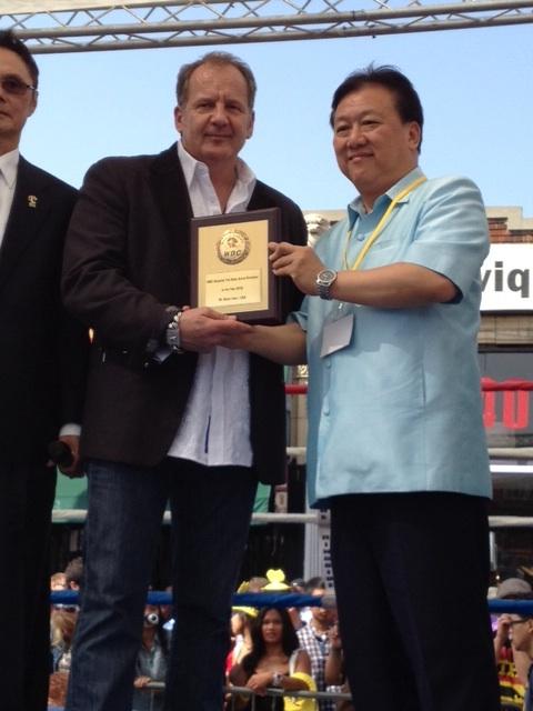 Scott Kent, Ambassador Satjipanon