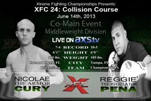 XFC 24 - Nicolae Cury vs. Reggie Pena