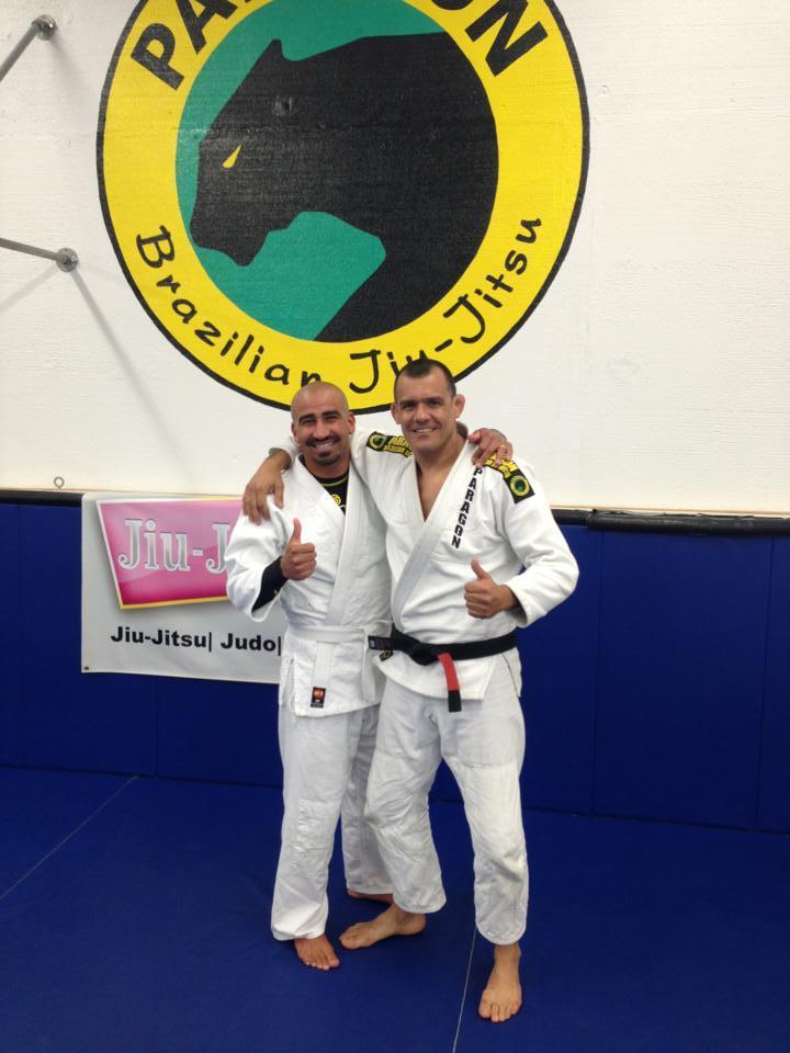 Bobby Martinez with Franjinha