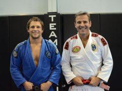 Jeff Curran and Pedro Sauer