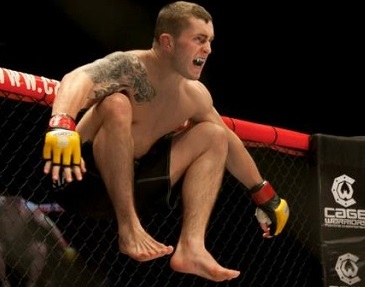 Steven Ray (Photo: Dolly Clew | Cage Warriors)