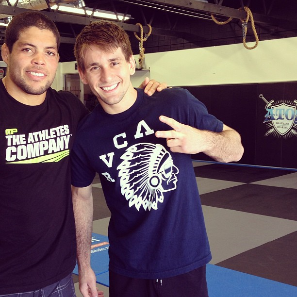 Andre Galvao and Rafa Mendes together again