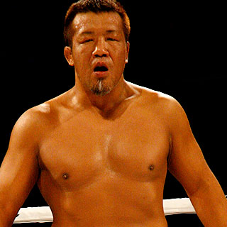 A 44-year old veteran Yoshiki Takahashai is the very first Japanese fighters to win in the UFC. (UFC 12 - vs Wallid Ismail)