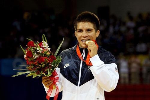 Olympic gold medalist Henry Cejudo