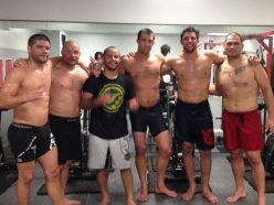 "Leo Vieira, Marcus ""Buchecha"", Cain Velasquez, Luke Rockhold, Josh Thomson, Daniel Cormier"