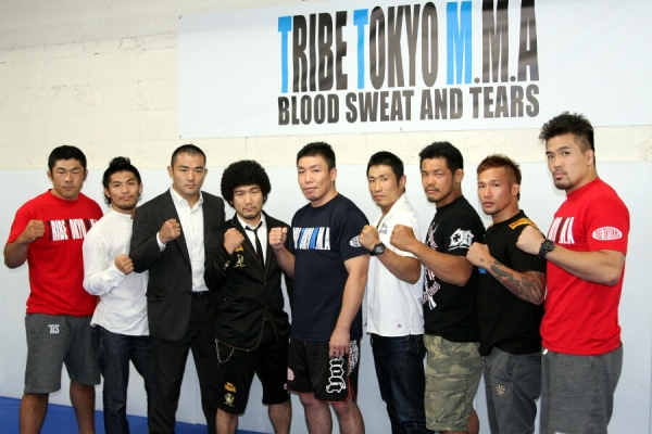 Earlier this month, Ryo Chonan held a press conference at his gym TRIBE TOKYO M.M.A. to announce fight cards of his first event TRIBE TOKYO FIGHT.