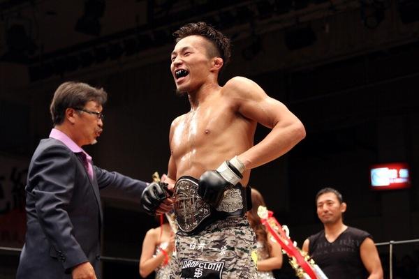 Tatsumitsu Wada is the new DEEP flyweight champion.