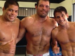 Andre Galvao, Dean Lister and Rafel Mendes