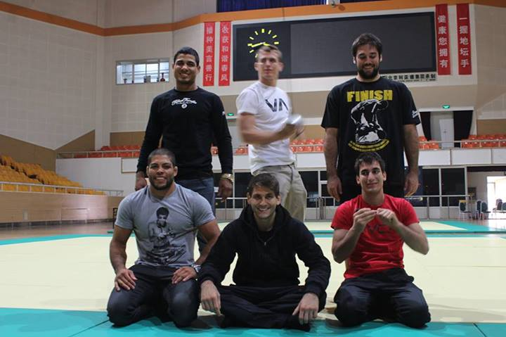 """Atos Team: Galvao, JT, Mendes Bros, Keenan - Galvao says: """"Guys it's almost time to fight!!!!! Just visited the venue where this years ADCC will be held and it looks sick!! I'm ready to go, and can't wait to get this started."""""""