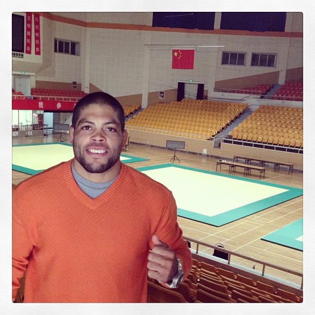 """Andre Galvao in the arena: """"I like that baby!"""""""