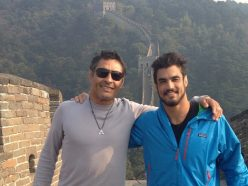 "Rickson and Kron Gracie at the Great Wall: Rickson: ""This weapon is ready to go off!"""