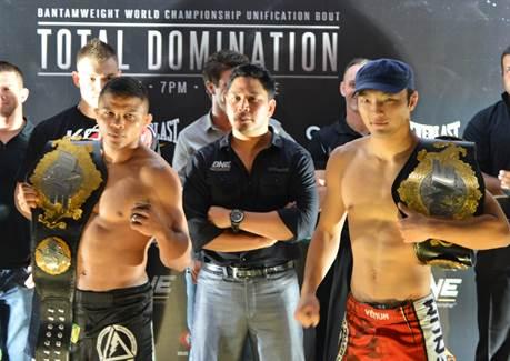 Bibiano Fernandes VS Soo Chul Kim weigh in
