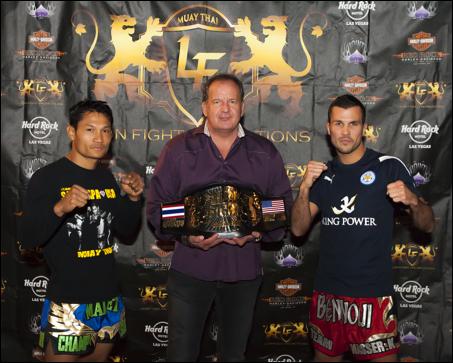LION FIGHT 12 - Malaipet vs. Fabio Pinca