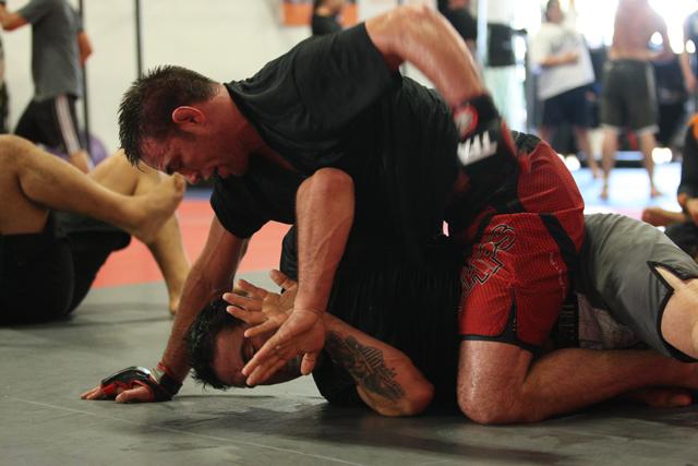 Jake Shields training September 2013