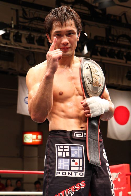 Kuniyoshi Hironaka is the first fighter to defend Shooto's welterweight (155 lbs) title twice.