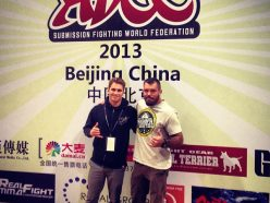 Clark Gracie and Dean Lister ready for ADCC 2013- Photo Clark Gracie