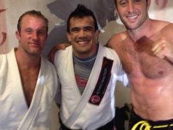 "Scott Caan, Rubens ""Cobrinha"" and Alex O'Loughlin"