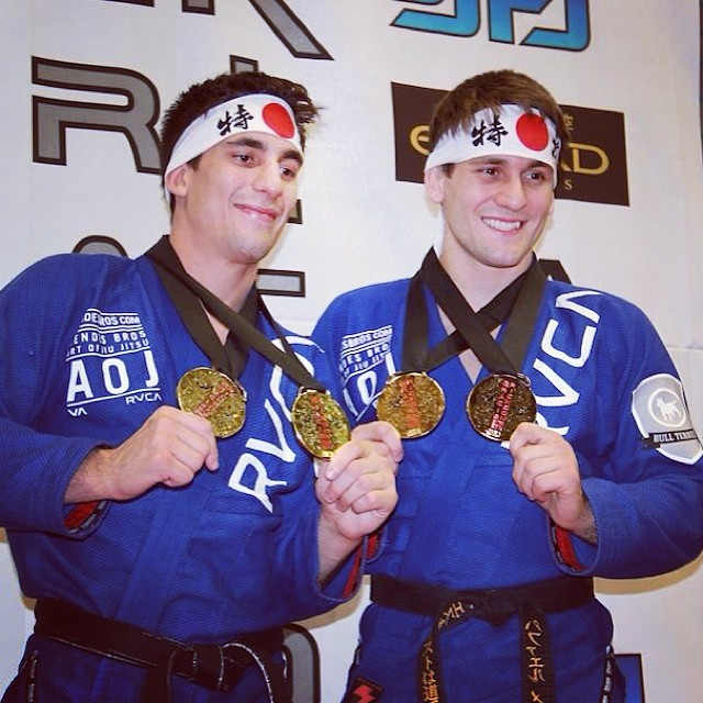 Mendes Brothers are the top of the Weight and Absolute podiums