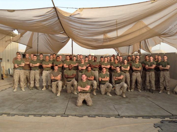 Chris Cunningham and his group - July 2013, Camp Bastion Afghanistan