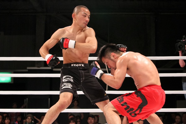 This was Yusuke Kawanago's (left) last fight in Pancrase. Back in June 5th, 2011.