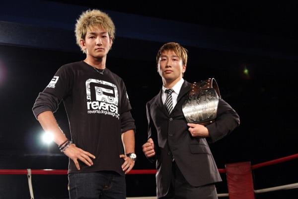 "Yuta ""Ulka"" Sasaki (left) and Keisuke Fujiwara (right)."