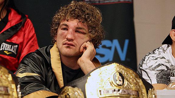 Former Bellator champion Ben Askren