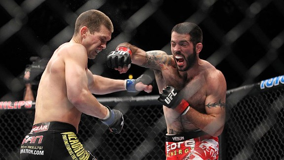 UFC welterweight Matt Brown