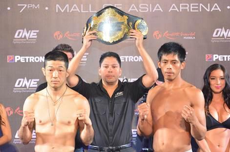 Koji Oishi & Honorio Banario - weighin