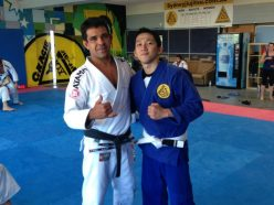 Marcos Nevel with student