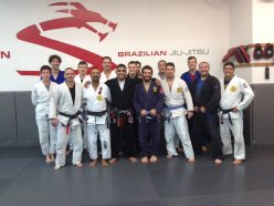 Shaolin (Center) with Fall BJJ camp